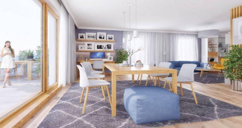 Achat / Vente appartement neuf Villeurbanne proche métro et bus (69100) - Réf. 4373