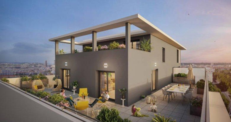 Achat / Vente appartement neuf Villeurbanne proche Montchat (69100) - Réf. 5878