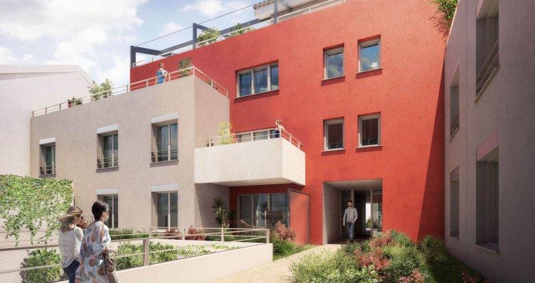 Achat / Vente appartement neuf Villeurbanne proche parc Tête d'Or (69100) - Réf. 1973