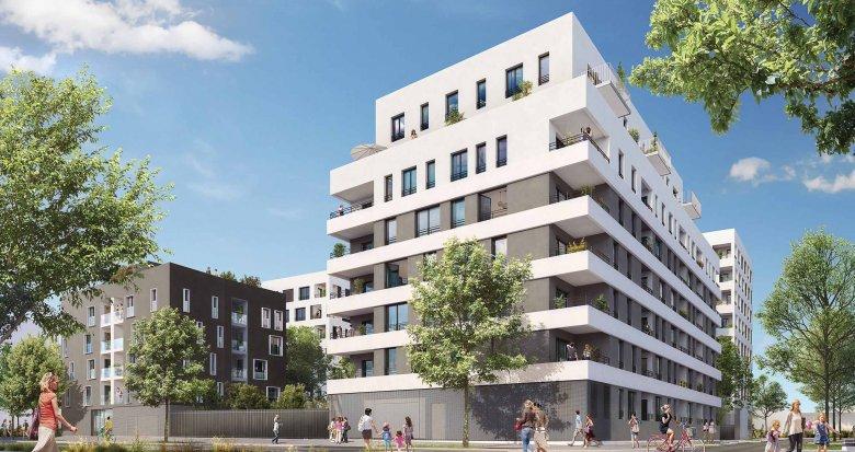 Achat / Vente appartement neuf Villeurbanne proche pôle multimodal La Soie (69100) - Réf. 1957