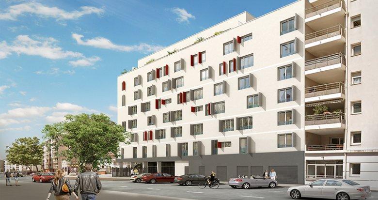 Achat / Vente appartement neuf Villeurbanne proche pôles universitaires (69100) - Réf. 1477