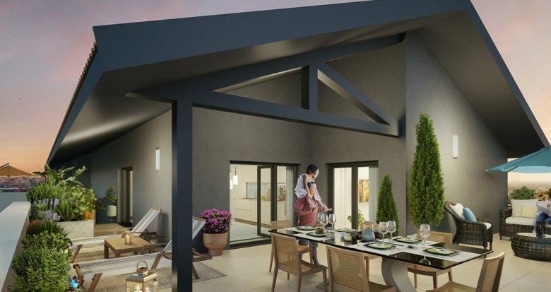 Achat / Vente appartement neuf Villeurbanne proche quartier Gratte-Ciel (69100) - Réf. 2268
