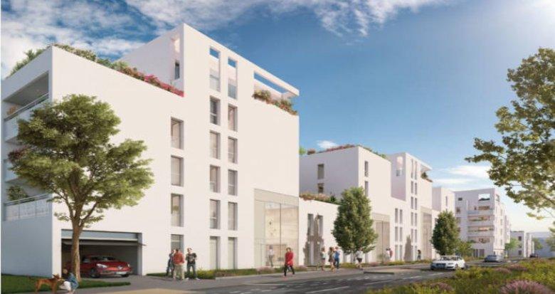 Achat / Vente appartement neuf Villeurbanne proche quartier Gratte-Ciel (69100) - Réf. 2706