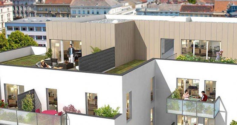 Achat / Vente appartement neuf Villeurbanne proche quartier Montchat (69100) - Réf. 701
