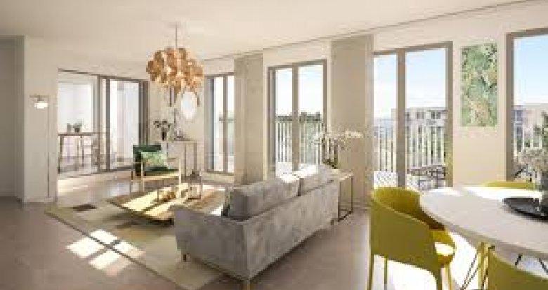 Achat / Vente appartement neuf Villeurbanne proche secteur Montchat (69100) - Réf. 2574