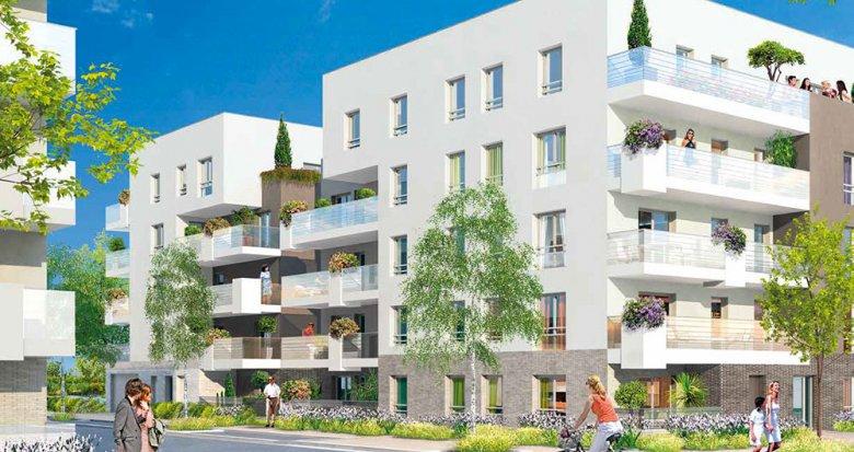 Achat / Vente appartement neuf Villeurbanne proche Tête d'Or (69100) - Réf. 116