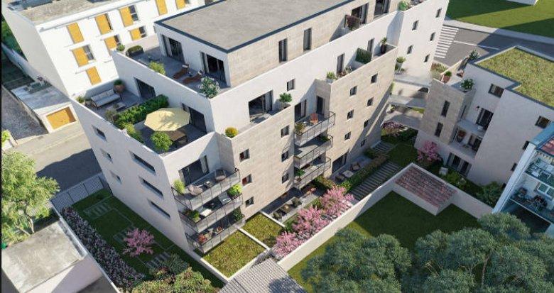 Achat / Vente appartement neuf Villeurbanne proche tramway T1 et T4 (69100) - Réf. 4033