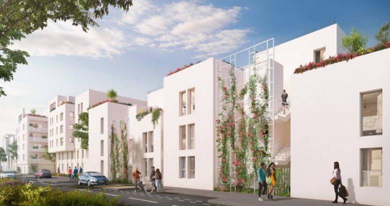 Achat / Vente appartement neuf Villeurbanne proche tramway T4 et bus (69100) - Réf. 5079
