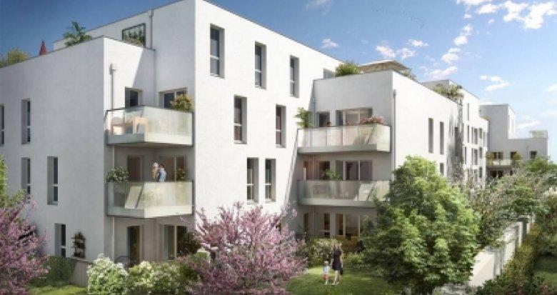 Achat / Vente appartement neuf Villeurbanne proches des transports (69100) - Réf. 3405