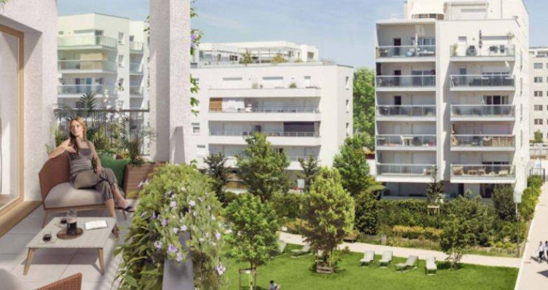 Achat / Vente appartement neuf Villeurbanne quartier Carré de Soie (69100) - Réf. 4944
