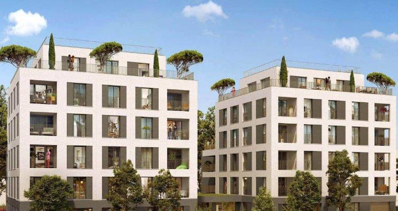 Achat / Vente appartement neuf Villeurbanne quartier Château-Gaillard (69100) - Réf. 4867