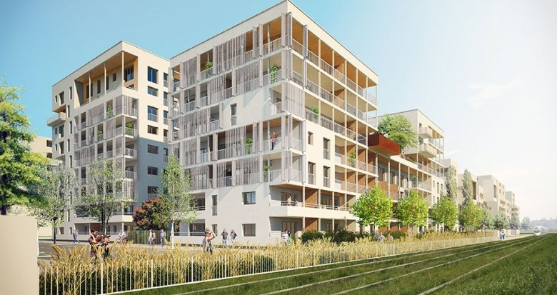 Achat / Vente appartement neuf Villeurbanne quartier de la Soie (69100) - Réf. 654