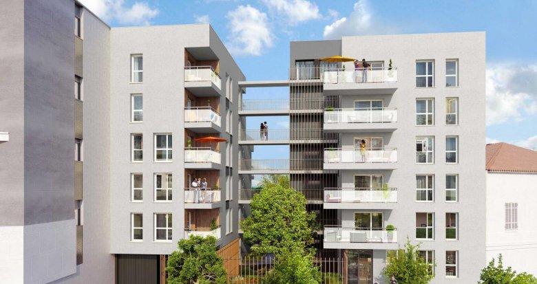 Achat / Vente appartement neuf Villeurbanne quartier des Charmettes (69100) - Réf. 711