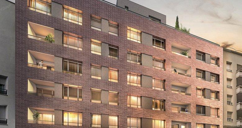 Achat / Vente appartement neuf Villeurbanne quartier des Gratte-ciel (69100) - Réf. 637