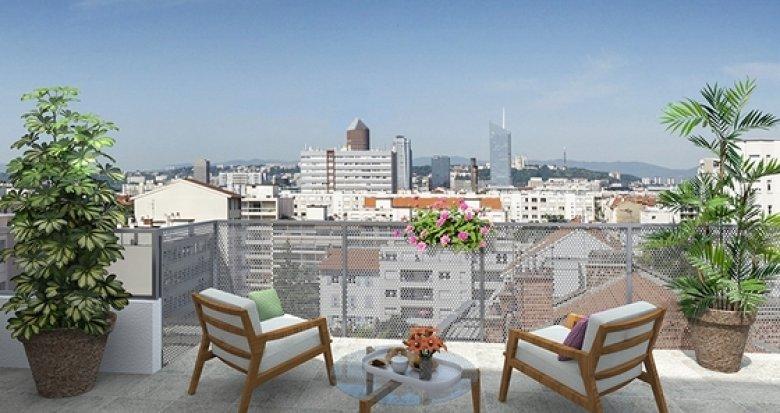 Achat / Vente appartement neuf Villeurbanne quartier Gratte-Ciel (69100) - Réf. 1297