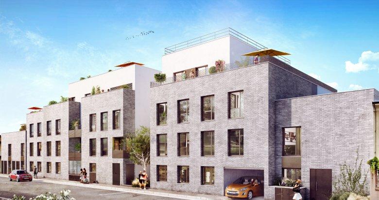 Achat / Vente appartement neuf Villeurbanne quartier République (69100) - Réf. 349