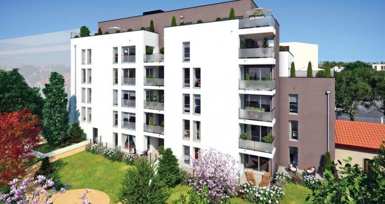 Achat / Vente appartement neuf Villeurbanne rue Jean Voilot (69100) - Réf. 2374