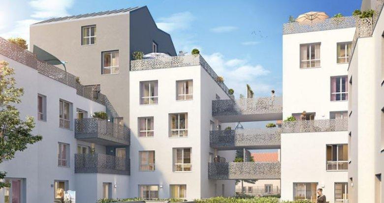 Achat / Vente appartement neuf Villeurbanne secteur des Gratte-Ciel (69100) - Réf. 2351