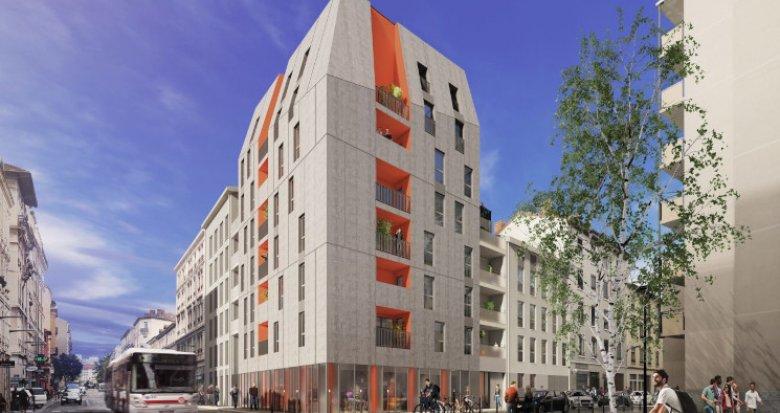 Achat / Vente appartement neuf Villeurbanne secteur Grand Clément Tolstoï (69100) - Réf. 5520