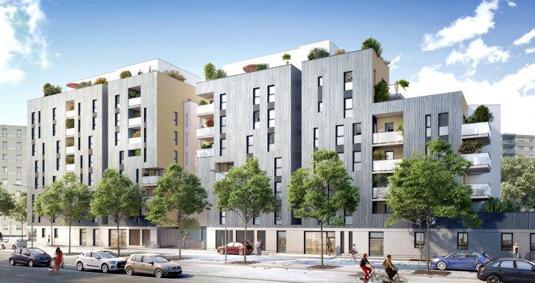 Achat / Vente appartement neuf Villeurbanne secteur République (69100) - Réf. 2322